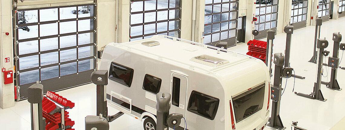 Industrie-Sektionaltore Novolux 60 mm